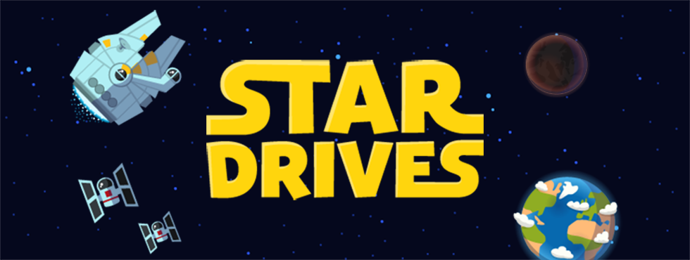 Star Drives Banner