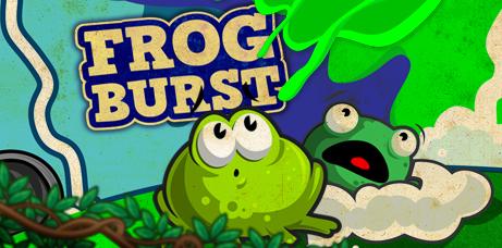 Frog Burst Banner