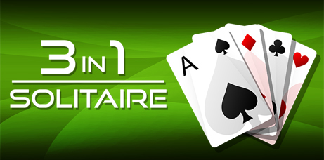 3in1 Solitaire Banner
