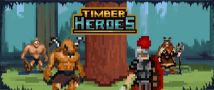 Timber Heroes Small Banner
