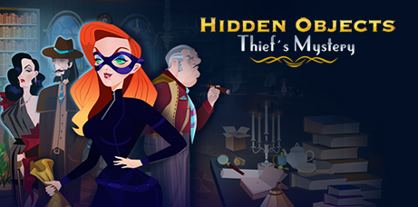 Hidden Objects: Thief's Mystery Banner